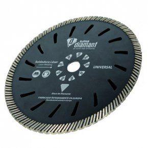 Disco Diamante Corte Seco/Húmedo-Turbo Universal 230mm