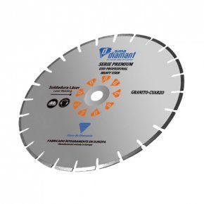 Disco Diamante Corte Seco/Húmedo-Granito Premium 350 mm
