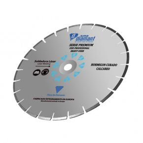 Disco Diamante-Corte Seco/Húmedo-Hormigón Curado Premium 350 mm