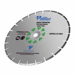 Disco Diamante Corte Seco/Húmedo-Universal Premium 300 mm