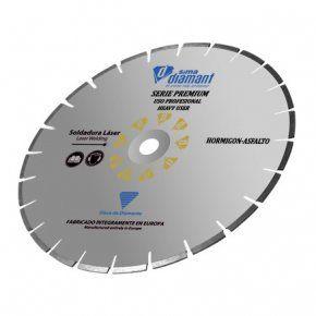 Disco Diamante-Corte Húmedo/Seco-Hormigón Premium 300 mm-1