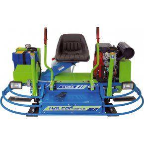 "Double Power Trowel 36""/91cm Honda23Hp HALCON Duplo"