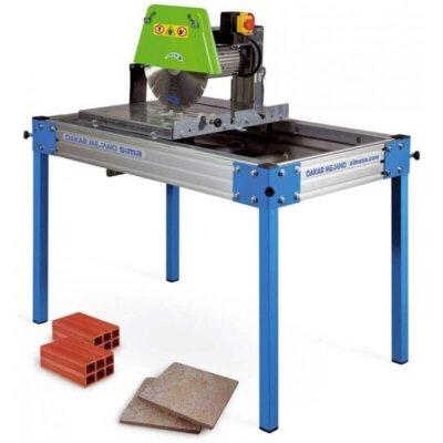 ¿Se puede usar una sierra húmeda para azulejos como cortadora de ladrillos?